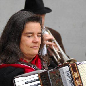 Stadtmusikanten, Gerda Zach, Grundsteinlegung Feuerwehrhaus Aichach